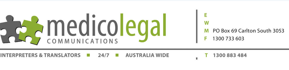 Medico Legal Communications - Interpreters & Translators